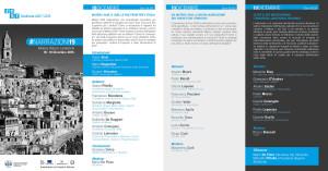 #Narrazioni19 - brochure informativa e programma dell'evento